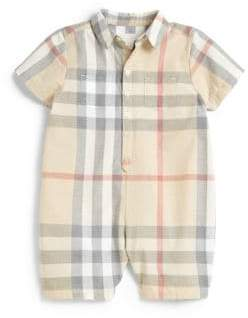 Burberry Baby's Pale Check Shortall