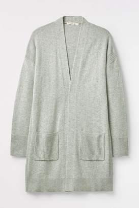 Next Womens White Stuff Grey Celia Longline Cardi