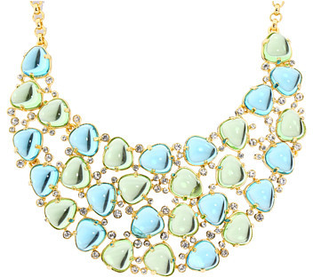 Kenneth Jay Lane - Ice Water Necklace