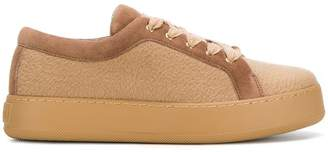 Max Mara waterproof lace-up trainers