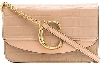 Chloé C chain clutch