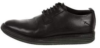 CNC Costume National Leather Derby Oxfords