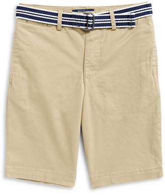 Ralph Lauren Belted Stretch Shorts