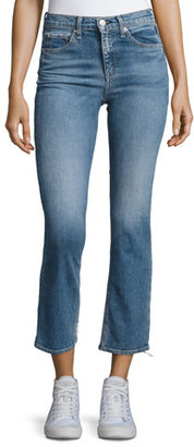 rag & bone/JEAN 10 Inch Stove Pipe Jeans, Belle $250 thestylecure.com