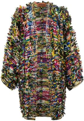 Missoni frayed cardigan