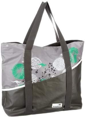KangaROOS Womens MILA tote large Shopper Gray Grau (charcoal) Size: