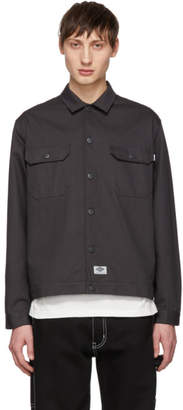 Dickies Construct Black Twill Shirt