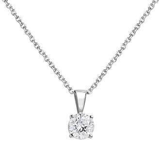 Bloomingdale's Diamond Solitaire Necklace in 14K White Gold, 0.75 ct. t.w. - 100% Exclusive