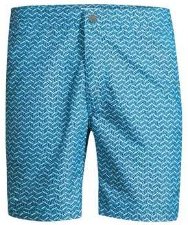 Onia Calder Geometric Swim Trunks