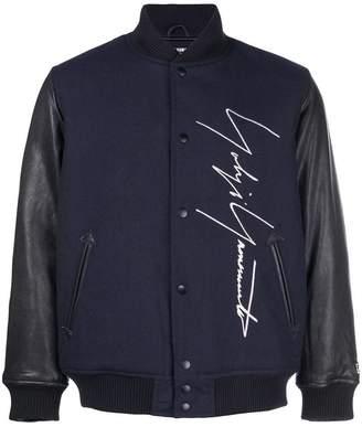 Yohji Yamamoto signature logo bomber jacket