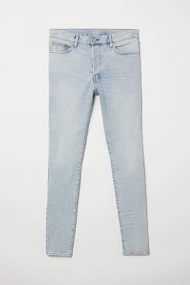 H&M Skinny Carrot Jeans - Blue