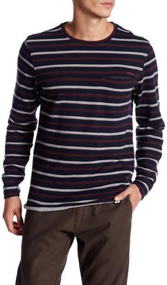 OurCaste Clyde Crewneck Stripe Sweater $80 thestylecure.com