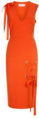 Rebecca Vallance Martinique Crepe Midi Dress