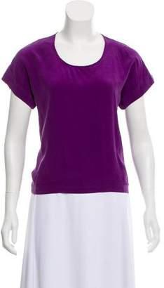 Naven Short Sleeve Silk Top