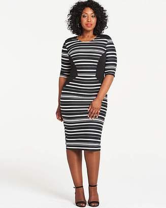 3bdd0bbc7 Plus Size Black And White Dresses - ShopStyle UK