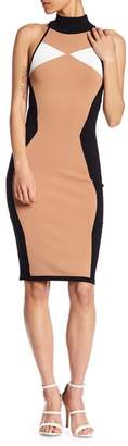 KENDALL + KYLIE Kendall & Kylie Bodycon Knit Colorblock Dress