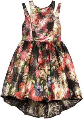 Pippa Pastourelle by & Julie Floral Brocade High/Low Dress