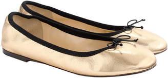 J.Crew Evie Leather Ballet Flat
