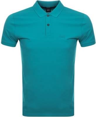 HUGO BOSS Pallas Polo T Shirt Green