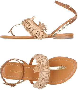 Visconti & du RÉAU Toe strap sandals