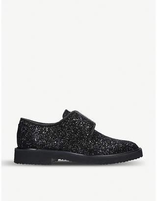 Giuseppe Zanotti Glittered derby shoes