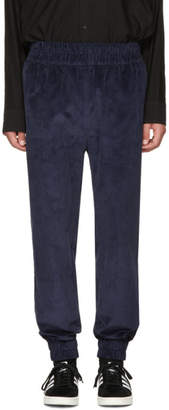 Phoebe English Navy Corduroy Jogger Lounge Pants