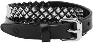20mm Leather Belt W/ Studs