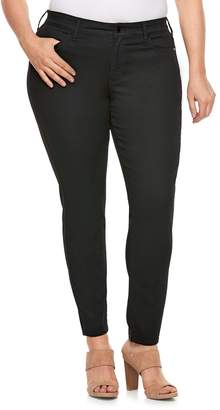 JLO by Jennifer Lopez Plus Size Black Skinny Jeans