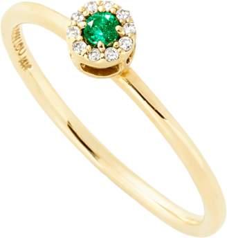 Alison Lou E Diamond Stack Ring