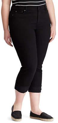 Lauren Ralph Lauren Plus High-Rise Stretch Skinny Jeans