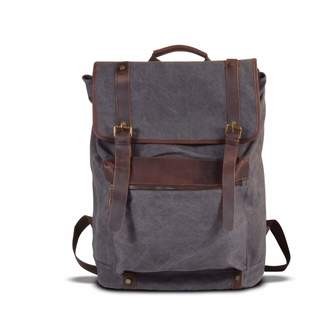 EAZO - Extra Large Canvas Backpack Grey