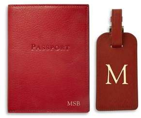 Graphic Image Passport and Luggage Tag Set