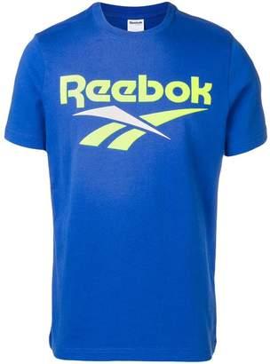 Reebok (リーボック) - Reebok ロゴプリント Tシャツ