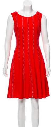 Oscar de la Renta Sleeveless Knee-Length Dress