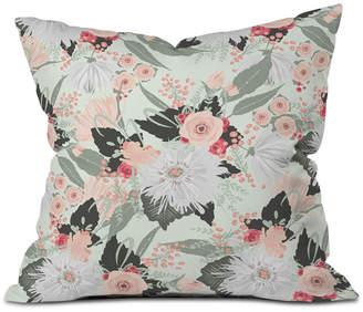 Deny Designs Iveta Abolina Carmella Creme Throw Pillow