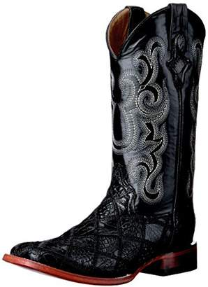 Ferrini Men's Patchwork GTR/ost S-Toe Western Boot