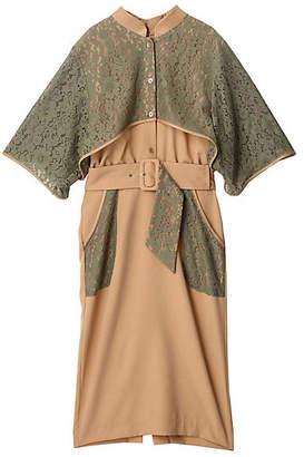 PAMEO POSE (パメオ ポーズ) - [PAMEO POSE] Belted Lace Dress