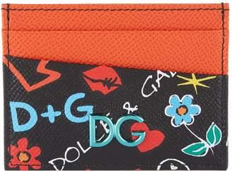 Dolce & Gabbana Mural Print Card Holder