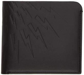Neil Barrett Black Thunderbolt Wallet