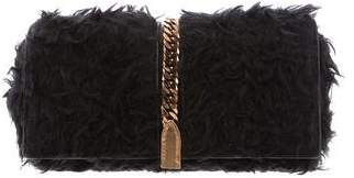 Christian Louboutin Faux Fur Catalina Clutch