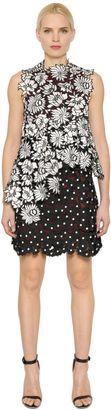 Millie Layered Lace Mini Dress $480 thestylecure.com