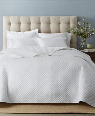Charter Club Cotton 3-Pc Quilted Coverlet and Sham Collection, Created for Macy's