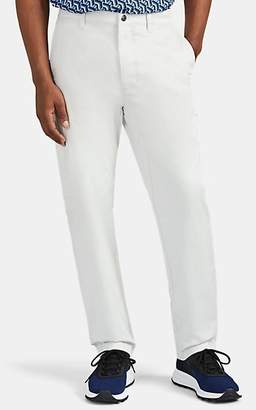 Acne Studios Men's Workwear Cotton Trousers - White