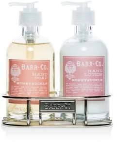 Barr-Co. Honeysuckle Hand and Body Caddy Set