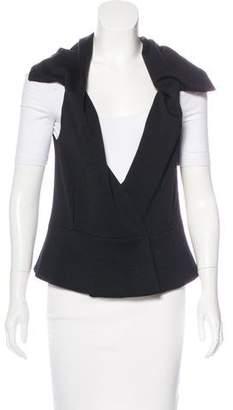 Derek Lam Peplum Wool Vest