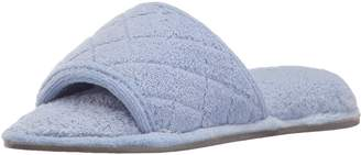 Dearfoams Women's Microfiber Terry Slide Slipper