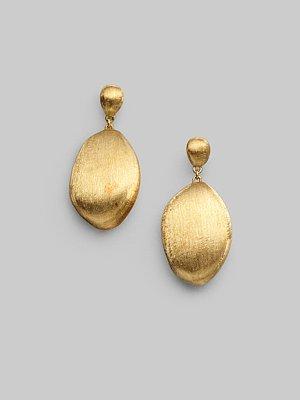 18K Yellow Gold Drop Earrings