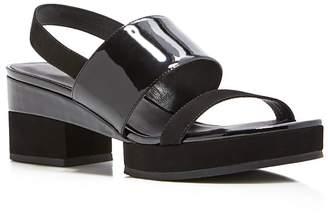 Delman Malia Platform Slingback Sandals $248 thestylecure.com