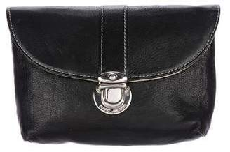Marc Jacobs Leather Flap Pouch