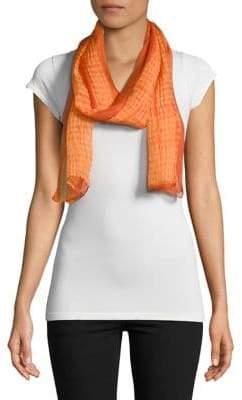 Eileen Fisher Printed Silk Scarf